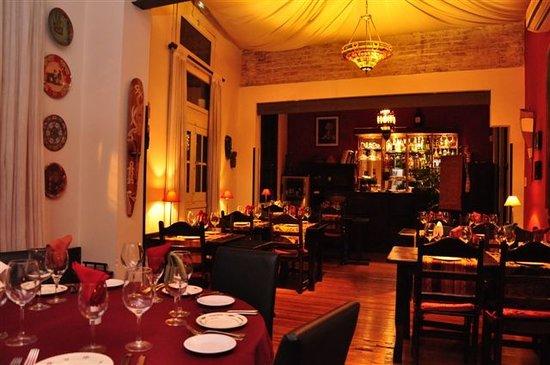 Restaurante Tandory: El salon principal
