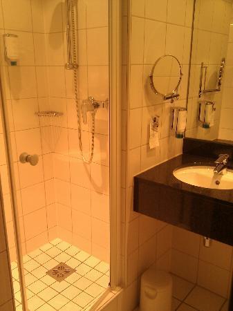 Dorint An der Messe Basel : Nice bath - I mean shower!