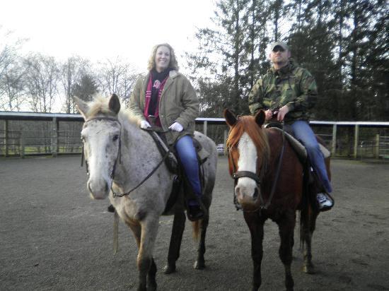 Three Rivers Casino Resort: the horses