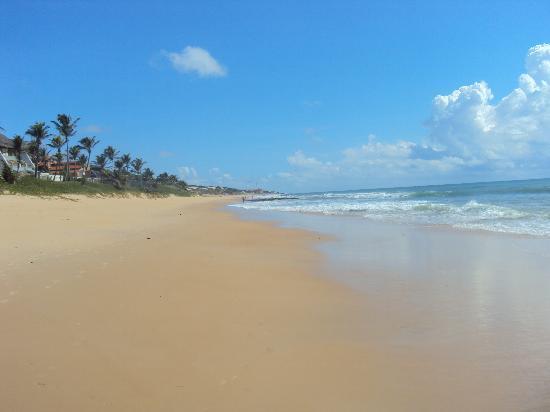 eSuites Vila do Mar: Vista desde la playa del hotel al norte