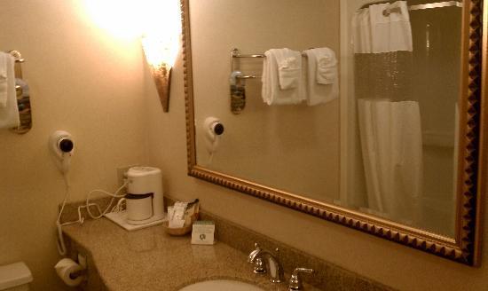 Ramada Toms River : Spacious Bathroom