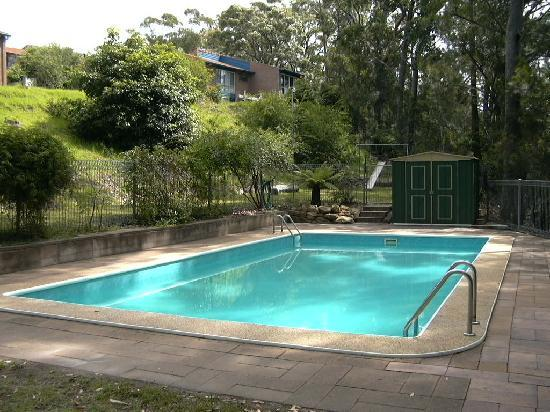 Merimbula Motor Lodge : Salt water pool