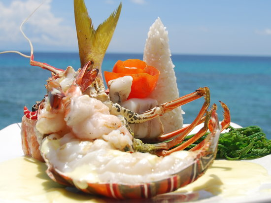 The Ballroom Restaurant: Fresh succulent seafood our specialty