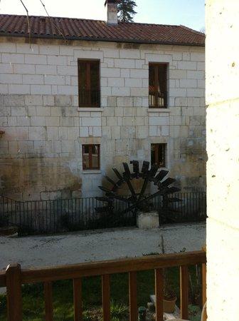 Le Moulin De Vigonac: LA ROUE