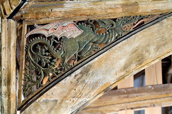Dragon Hall: the dragon