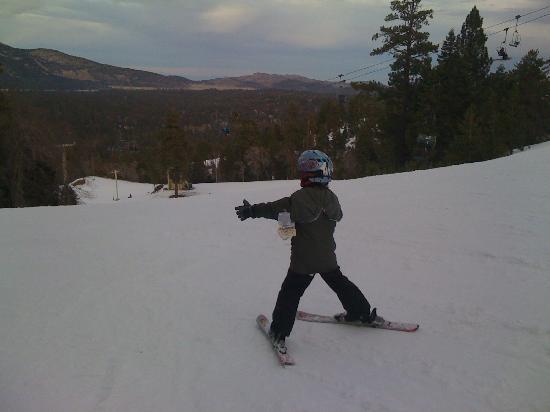 Snow Summit: und hinab ins Tal..