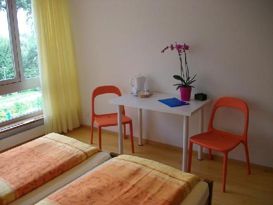 Camera Doppia con letti Singoli (Arancio) Hotel Rovere losone-Ascona ...