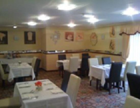 Mansfield Lodge Hotel: Restaurant