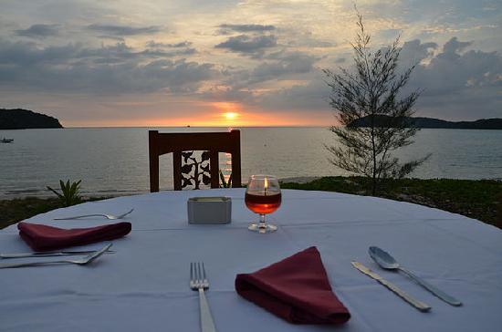The Frangipani Langkawi Resort & Spa : в ресторане
