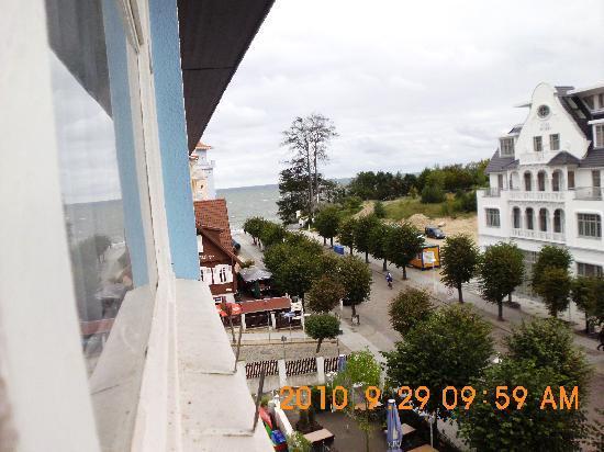 Hotel Xenia: Richtung Seebrücke