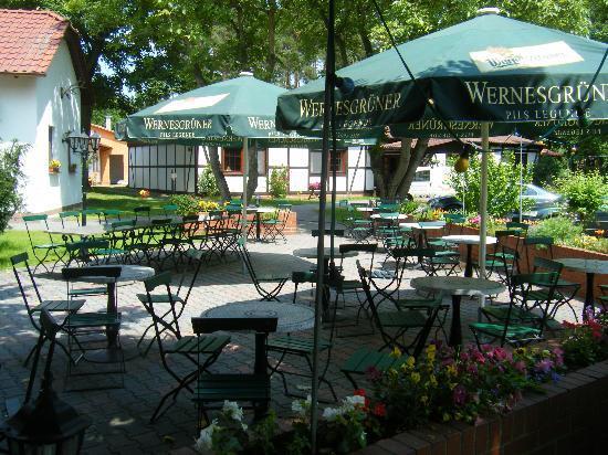 Lubben, เยอรมนี: Biergarten