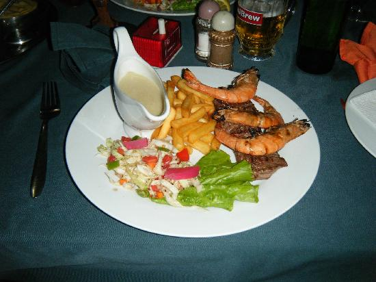 Smiling Coast Guesthouse & Brasserie: Surf & Turf 2