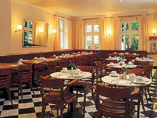 Sorat Hotel Cottbus: Frühstücksrestaurant