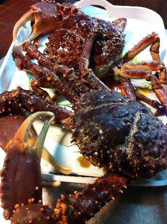 Plaza Lusitania: Fresh Delicious Jumbo Crab