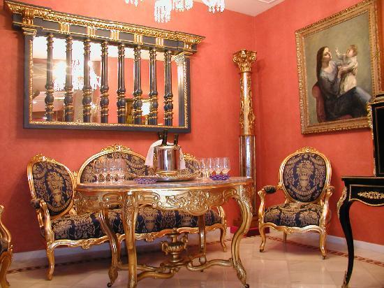 Hotel La Llave de la Jurderia: salón de entrada