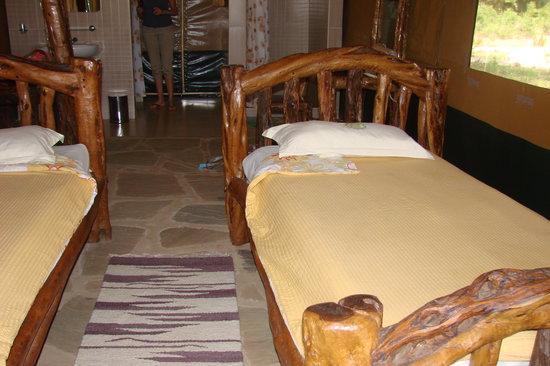 Ndololo Camp: letti
