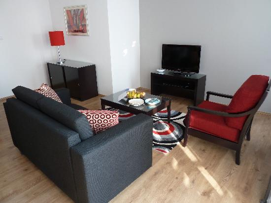 Fraser Residence Budapest: Livingroom