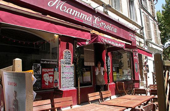 Mamma Corsica : Façade du restaurant.
