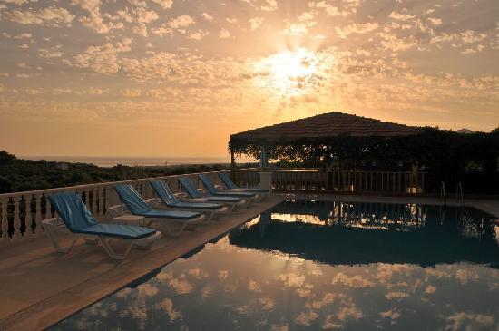 Gelemis Apart Hotel: Sonnenuntergang