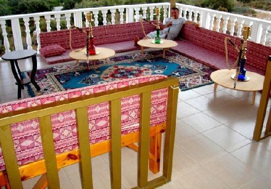 Gelemis Apart Hotel: Osmanische Sitzecke