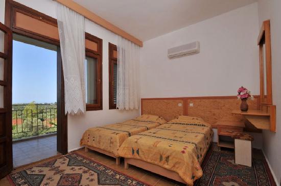 Gelemis Apart Hotel : Schlafzimmer