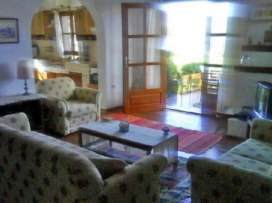 Villa Manzara : the living room