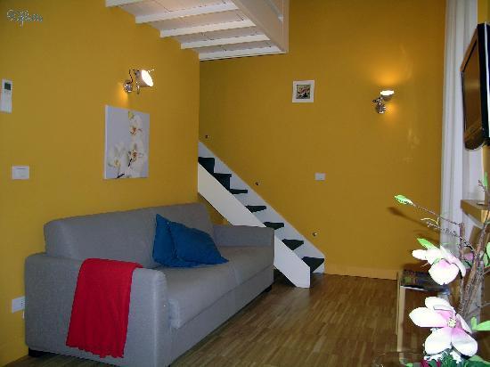 Ripetta 25: Appartamento soggiorno