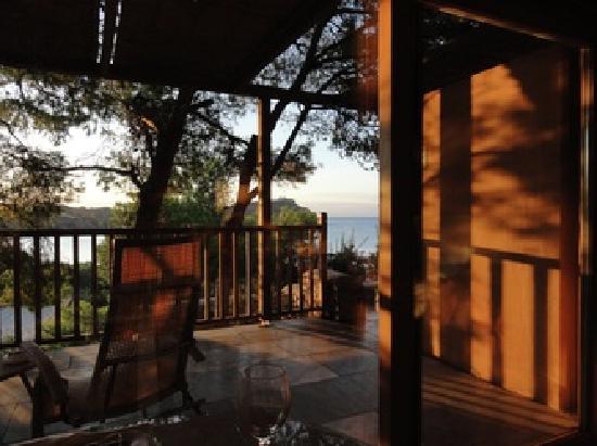 Cape Sounio, Grecotel Exclusive Resort : Bungallow private terrace