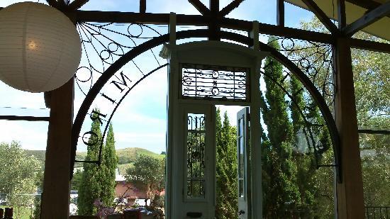 Front door at Miro