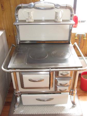 Ilaia Hotel: Granny's wood stove