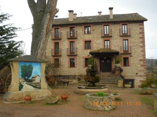 Molina de  Aragon, Spanyol: Hotel exterior