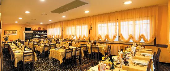 Hotel Candido: la sala da pranzo