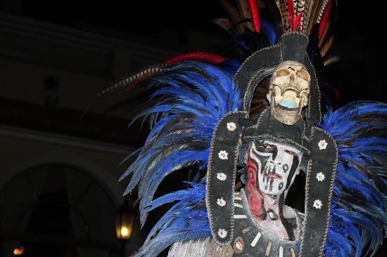 Hotel Riu Palace Mexico: RIU Mayan Show