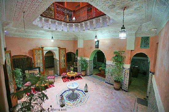 Riad Essaoussan: Pacio typiquement marocain