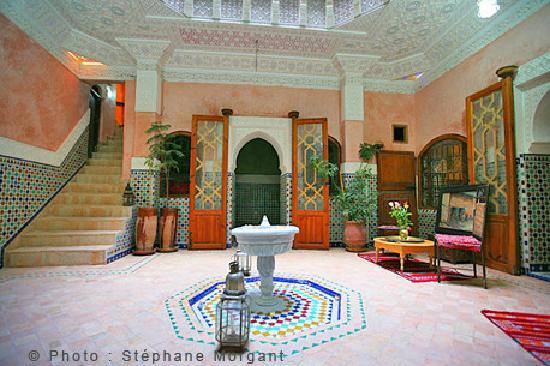 Riad Essaoussan: pacio du Riad