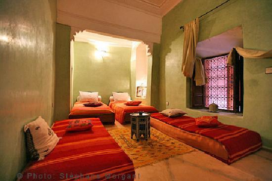 Riad Essaoussan: chambre quadruple
