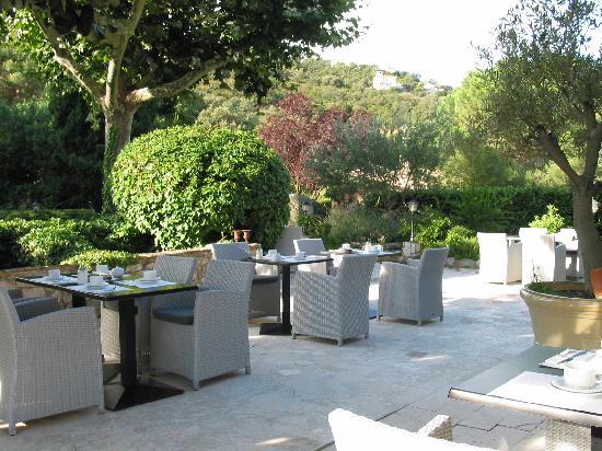 Le Relais Des Chartreuses: photo terrasse