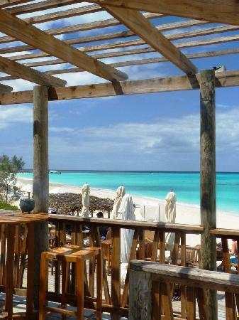 Club Med Columbus Isle: le bar de la plage