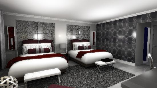 Hotel Deco XV: 89 lavish guestrooms and spacious suites offering a comfortable residential feel