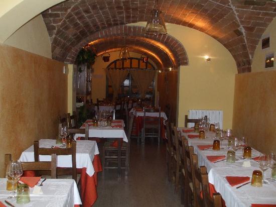 Osteria Pinchiorba: Sala