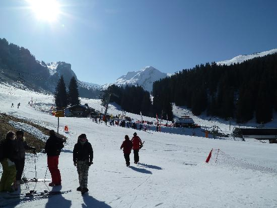 Chalet Beatrice, The Edge Morzine : What a surprise a fine sunny day