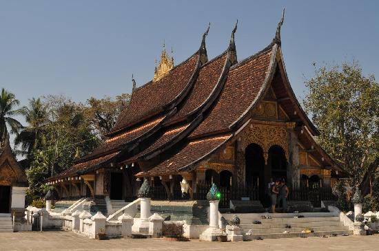 Luang Prabang, Laos: Oldest temple in Luangprabang