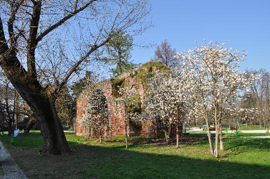 Milan, Italie : PArk Sempione