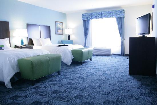 هامبتون إن آند سويتس دالاس/لويسفيل - فيستا: Standard 2 Queen bed room