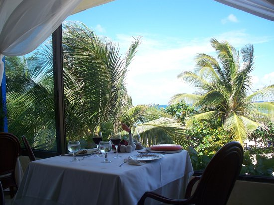 Grand Bahia Principe Coba: Vue au déjeuner