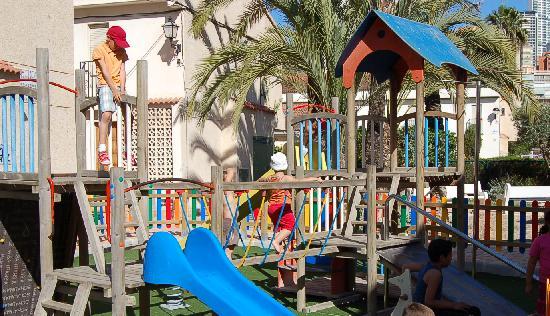 Rinconada Real: Parque infantil