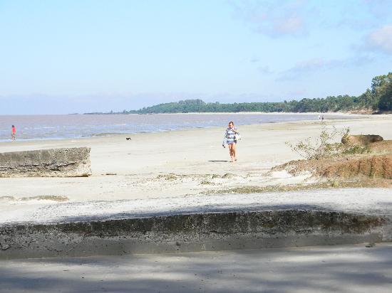 La Hostería Don Guillermo: la playa