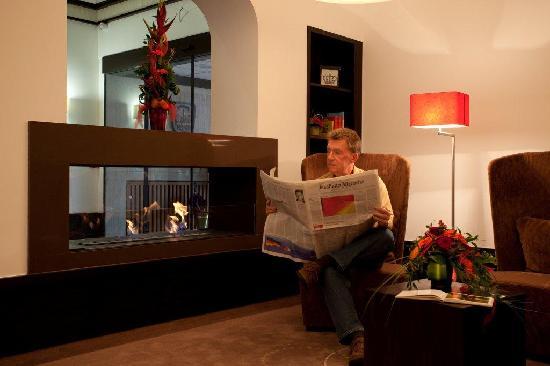Best Hotel Zeller: Kaminecke