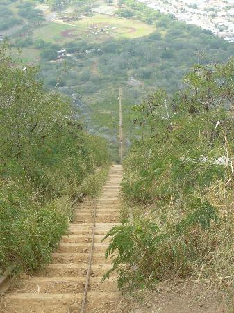 Koko Crater Trail: The looooong way down