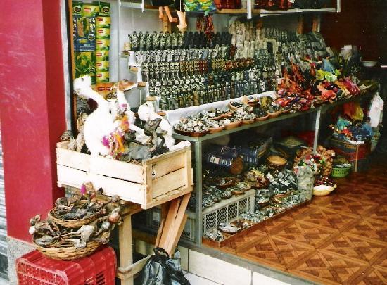 La Paz, Bolivia: Hexenmarkt2